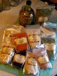 Dried organic Herbs from Mountain Rose Herbs