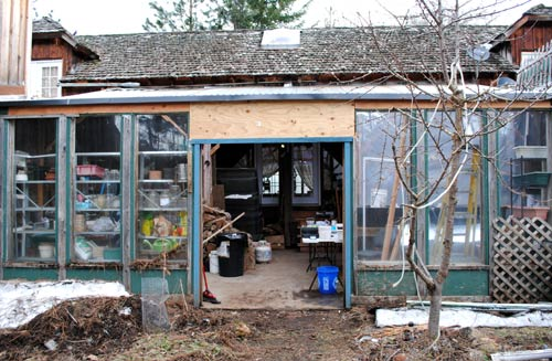 Greenhouse / Woodshed / Storage Area